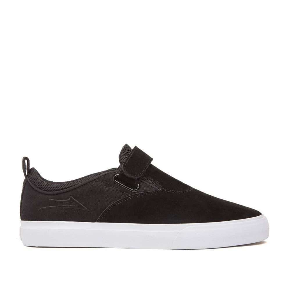 Lakai Riley 2 Suede Skate Shoes - Black / White | Shoes by Lakai 1
