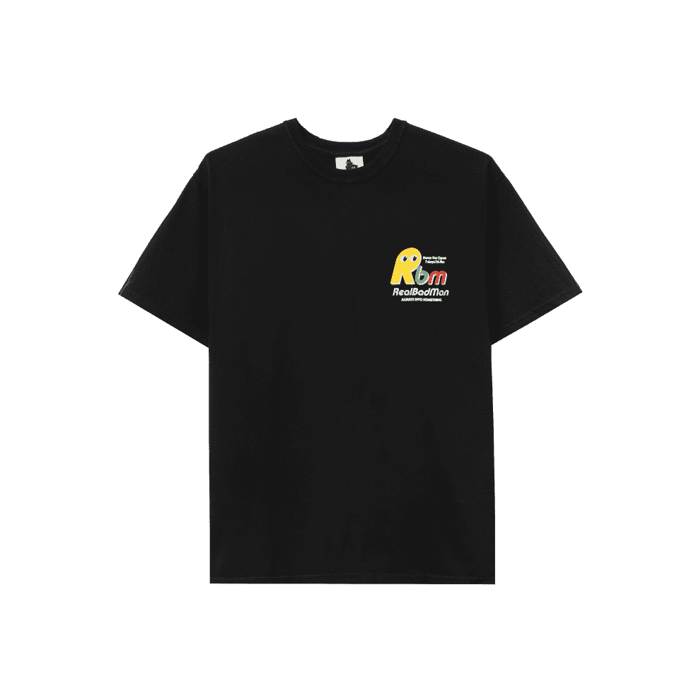 Real Bad Man Never Not Open Short Sleeve T-shirt - Black | T-Shirt by Real Bad Man 2