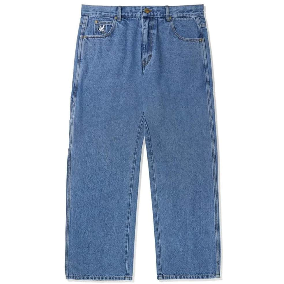 Butter Goods Gullwing Denim Pant - Washed Indigo   Jeans by Butter Goods 1