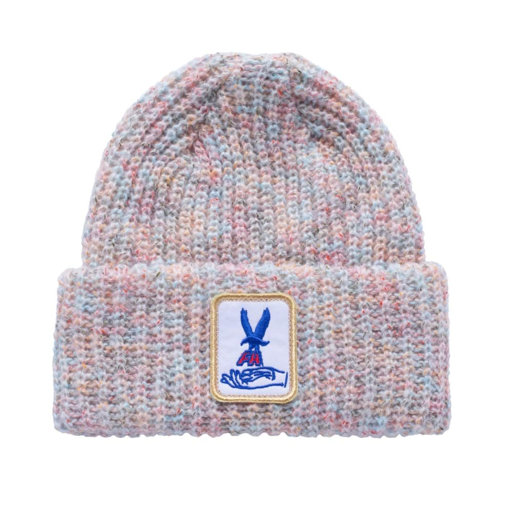 Fucking Awesome Beanie Hawk Speckle White   Beanie by Fucking Awesome 1