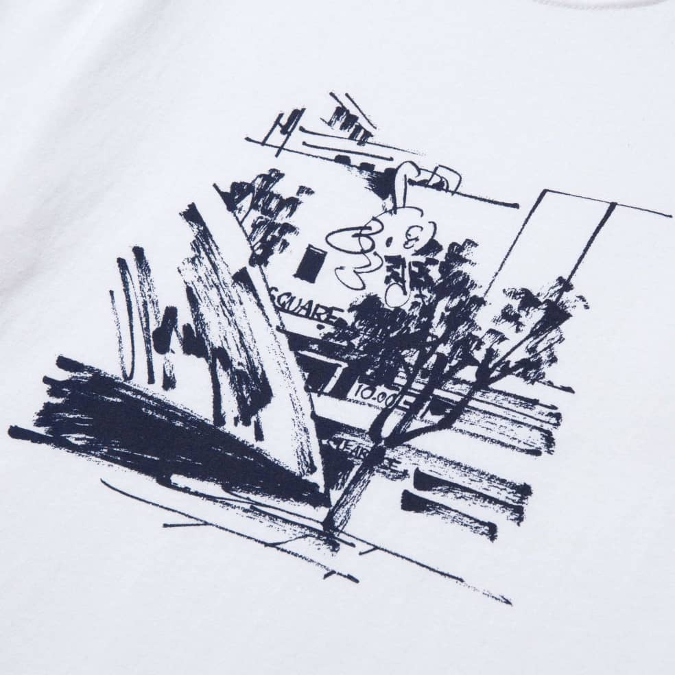 HUF James Jarvis Up T-Shirt - White | T-Shirt by HUF 2