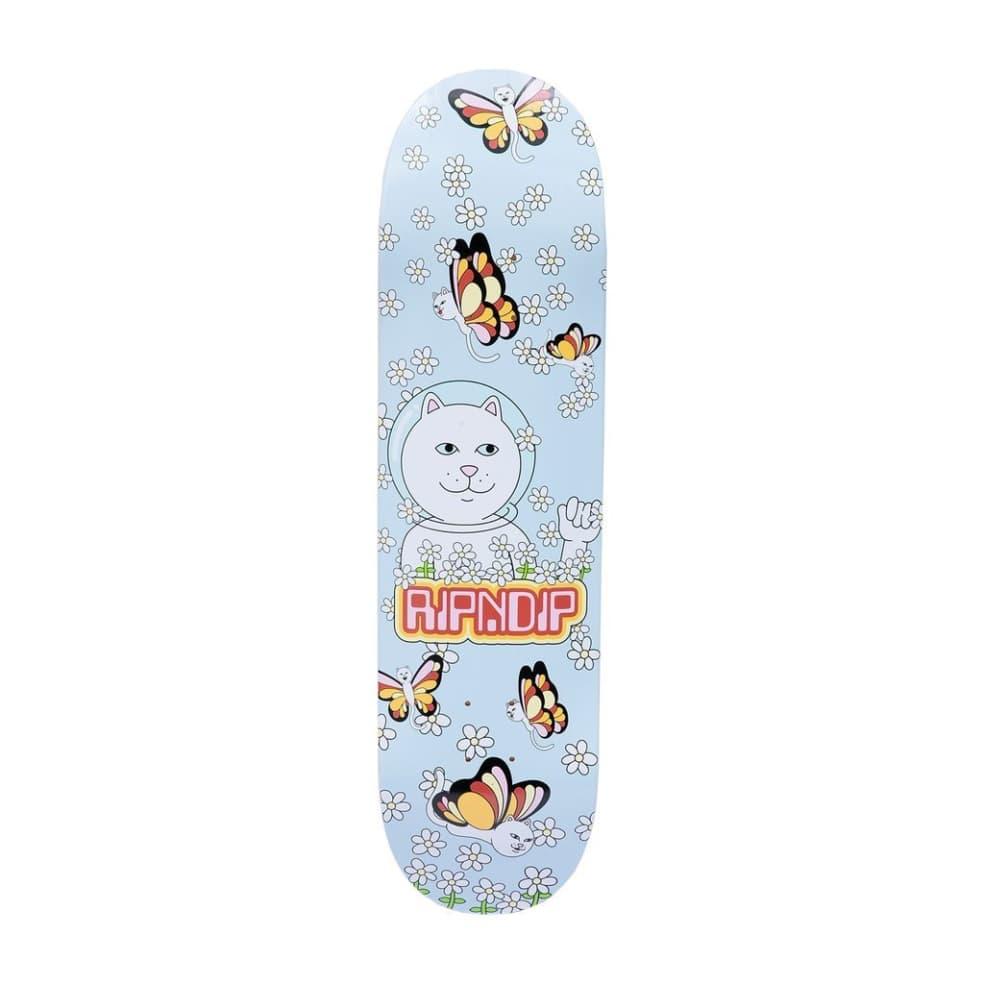 "Ripndip Butterfly Skateboard Deck (Lavender) - 8.25""   Deck by Ripndip 1"