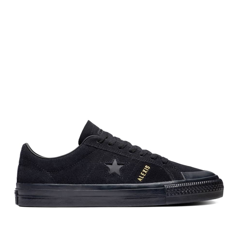 Converse CONS One Star Pro AS Low Top Shoes - Black / Black / Black   Shoes by Converse 1