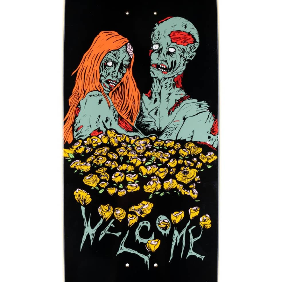 Zombie Love on Boline - Black - 9.25 | Deck by Welcome Skateboards 2
