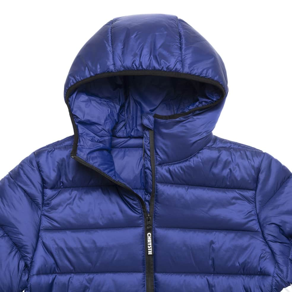 Chrystie NYC - OG Logo Puffer Jacket / Sapphire Blue   Jacket by Chrystie NYC 3