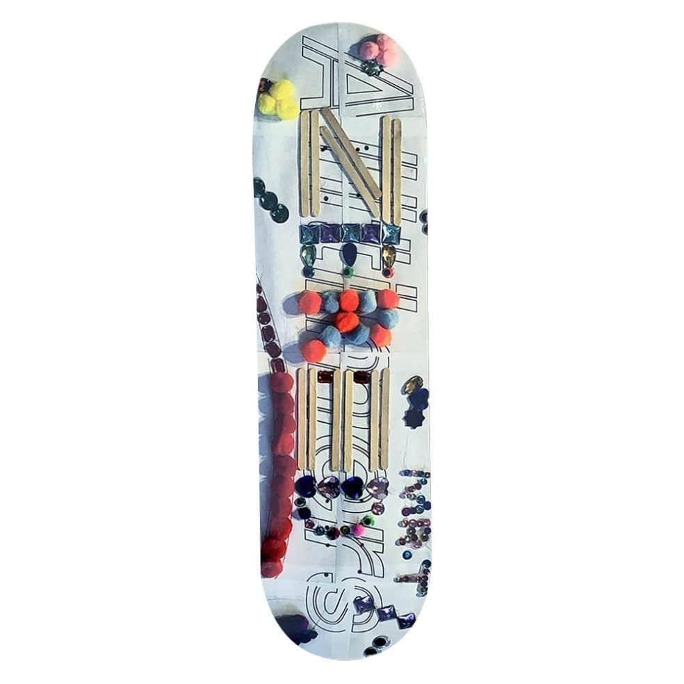 "Alltimers Crafts Zered Skateboard Deck - 8.3""   Deck by Alltimers 1"