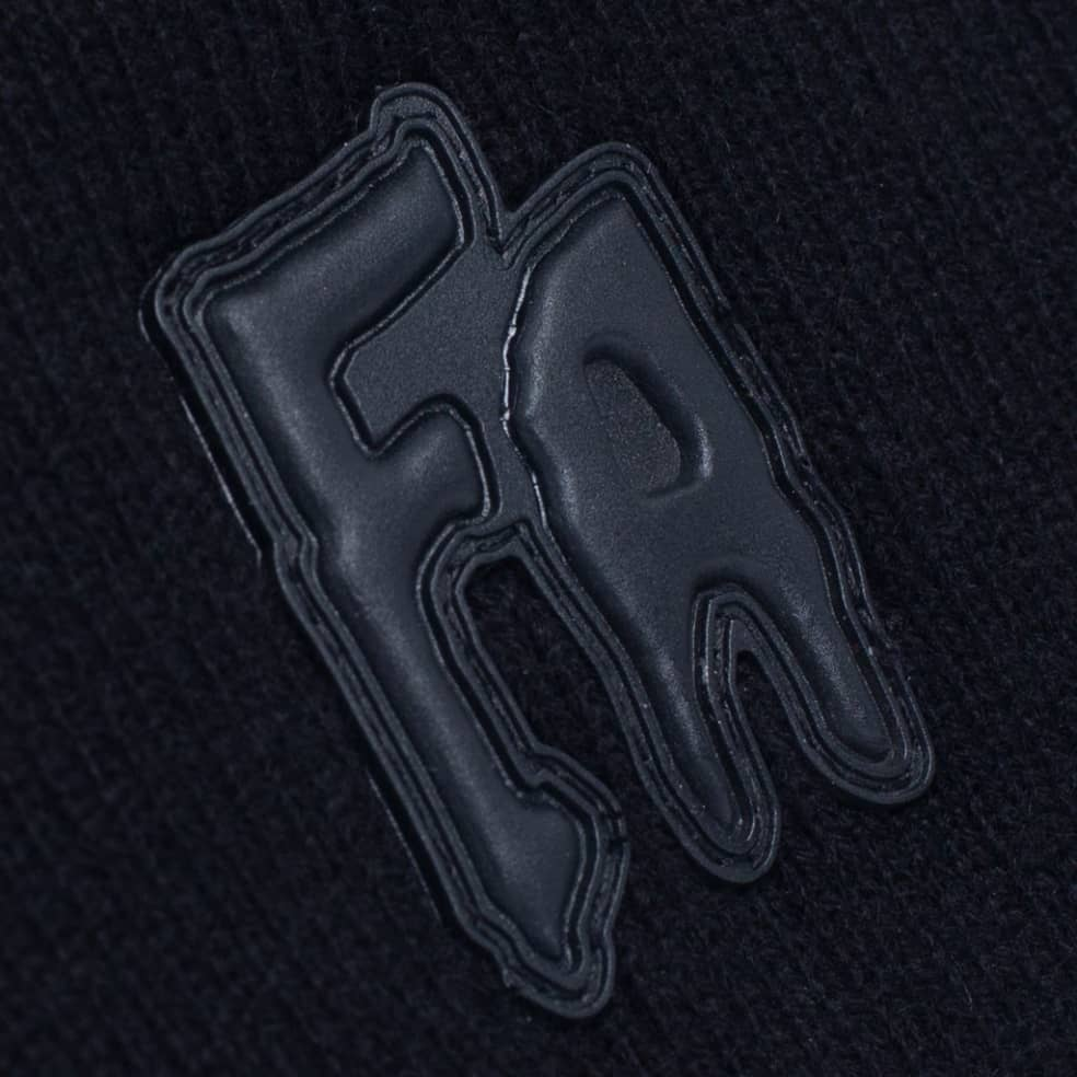Fucking Awesome FA Applique Cuff Beanie - Black | Beanie by Fucking Awesome 2
