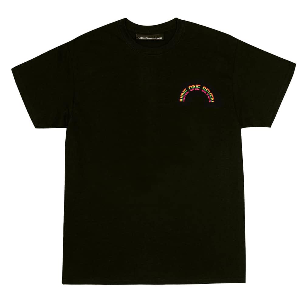 Call Me 917 Rainbow T-Shirt - Black | T-Shirt by Call Me 917 2