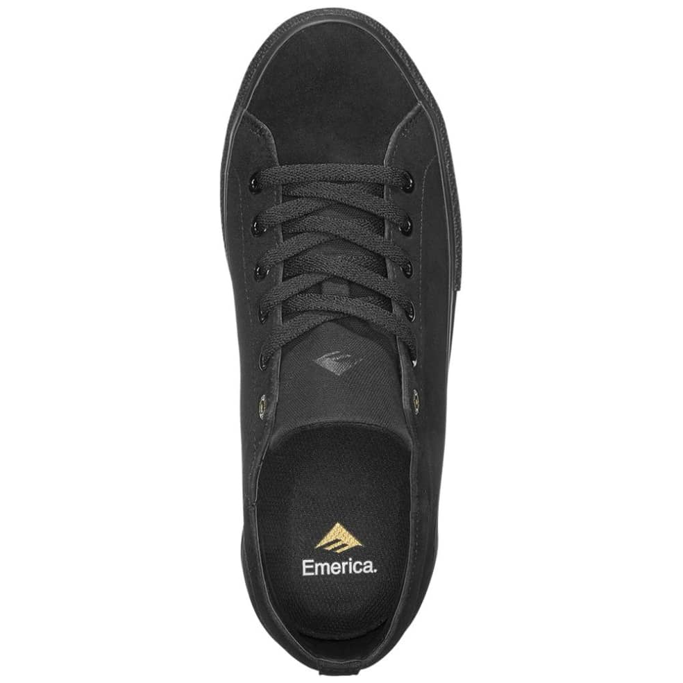 Emerica Omen Lo Skate Shoes - Black   Shoes by Emerica 3