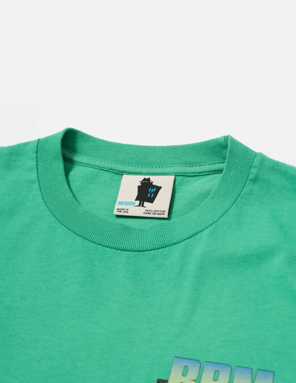 Real Bad Man Strange Sounds T-Shirt - Funk Green   T-Shirt by Real Bad Man 3