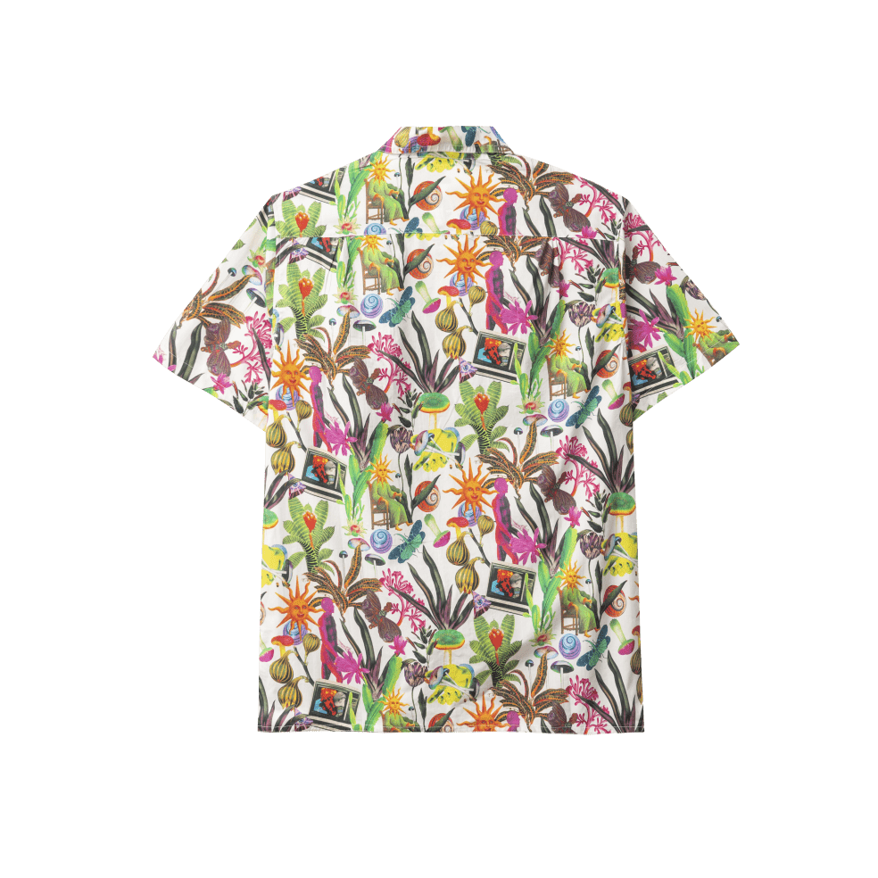 Real Bad Man Psychedelica Vacation Button Down Shirt - Bouquet / Multi   Shirt by Real Bad Man 2