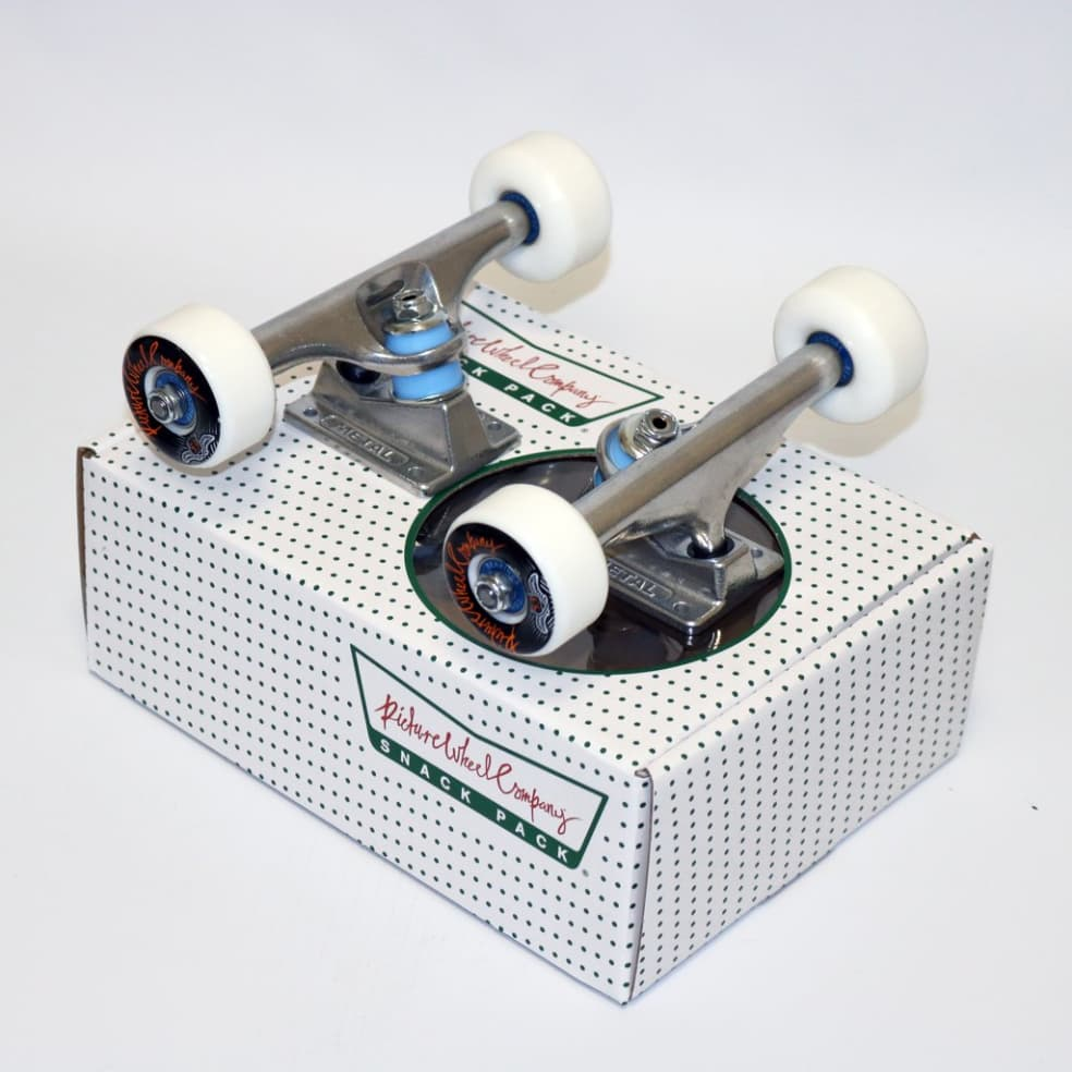Picture Snack Pack (Trucks, Wheels, Bearings) Assorted Sizes   Trucks by Picture Wheel Company 1