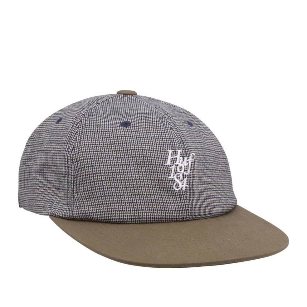 HUF Micro Houndstooth 6 Panel Hat - Green   Baseball Cap by HUF 1