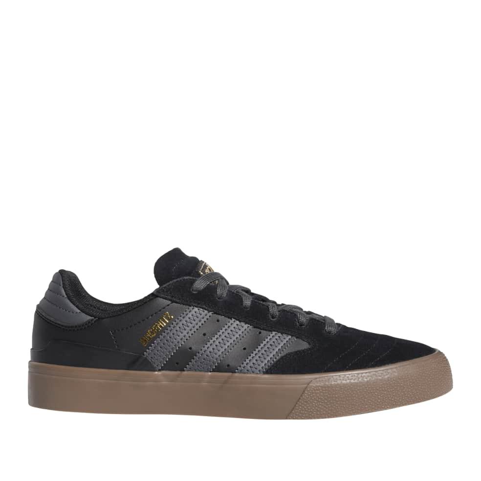 adidas Skateboarding Busenitz Vulc II Shoes - Core Black / Grey / Gum | Shoes by adidas Skateboarding 1