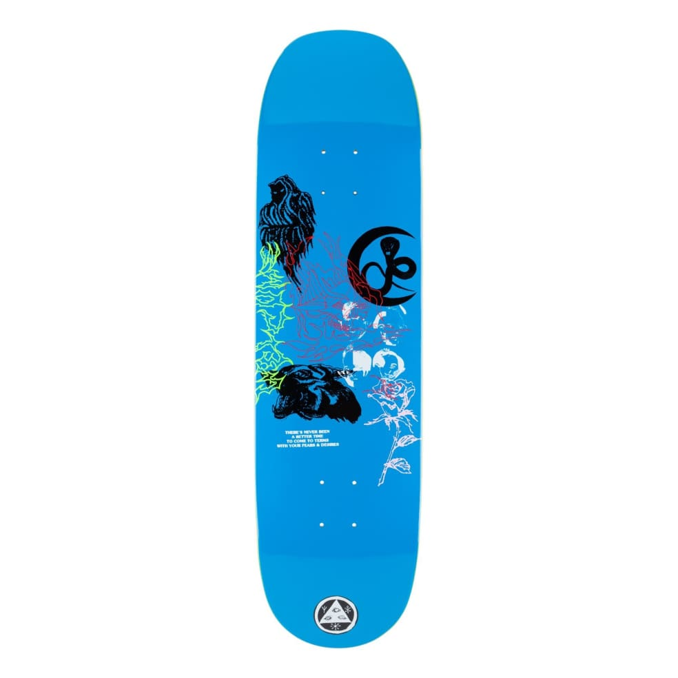 Welcome Flash on Moontrimmer Skateboard Deck 8.65 | Deck by Welcome Skateboards 2