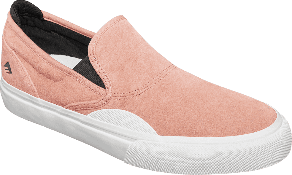 Emerica Wino G6 Slip Skate Shoes - Pink / White | Shoes by Emerica 2