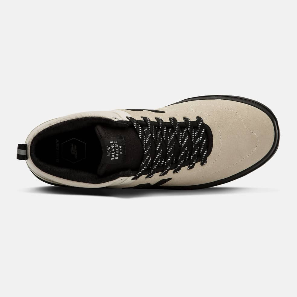 New Balance Numeric 379 Mid Shoes - White / Black | Shoes by New Balance 2
