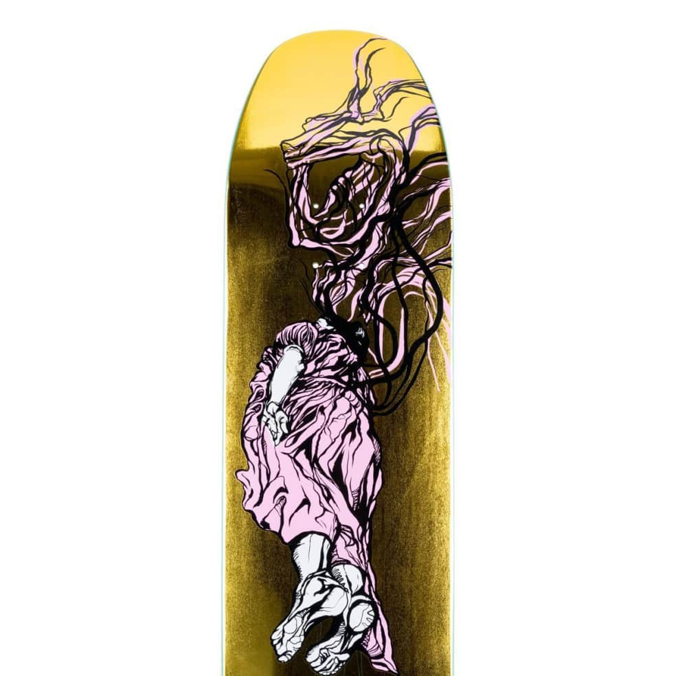 """Welcome Transcend on Son of Moontrimmer Deck 8.21"""" (Gold Foil)   Deck by Welcome Skateboards 2"""