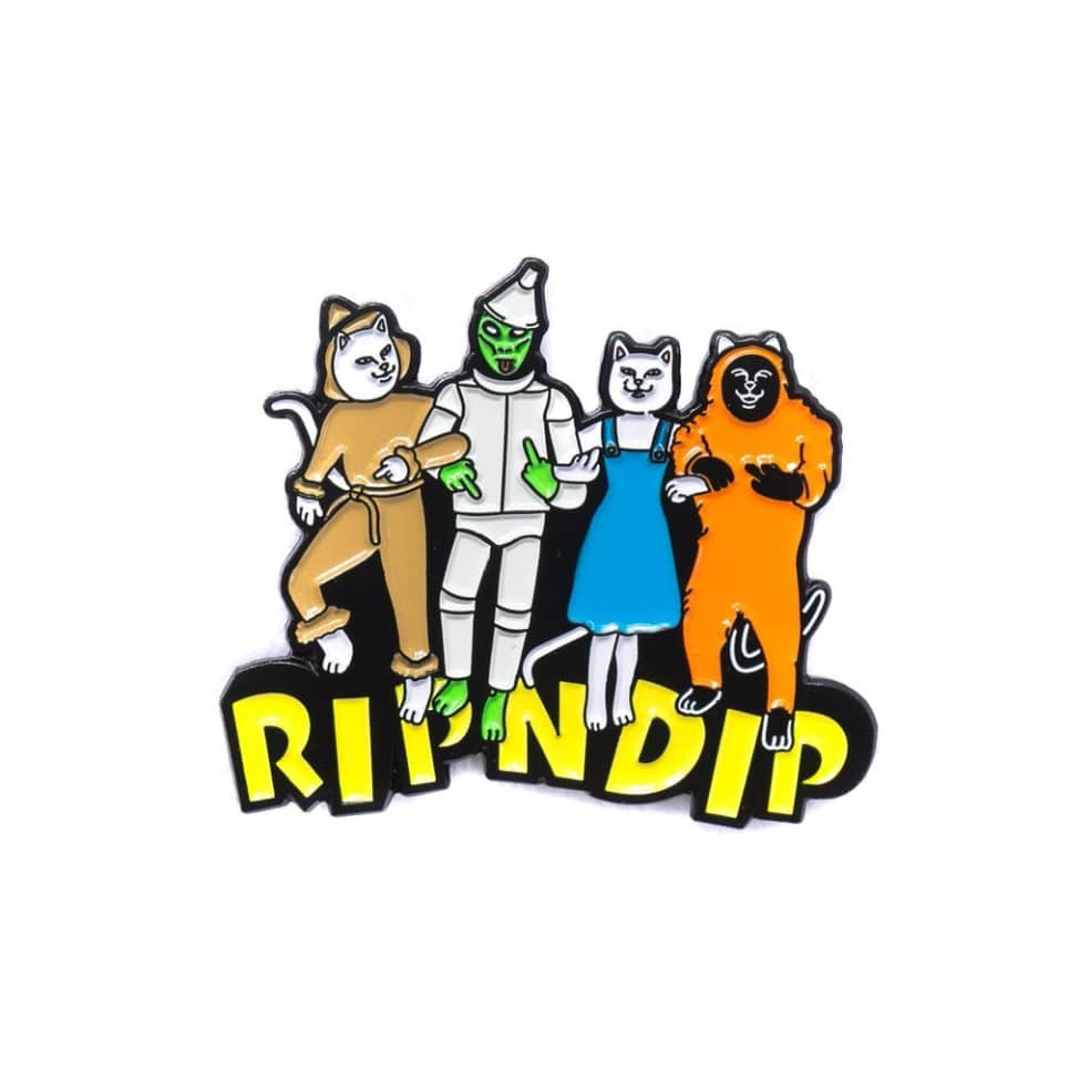 Rip N Dip No Place Like Home Pin - Multi | Pin Badge by Ripndip 1