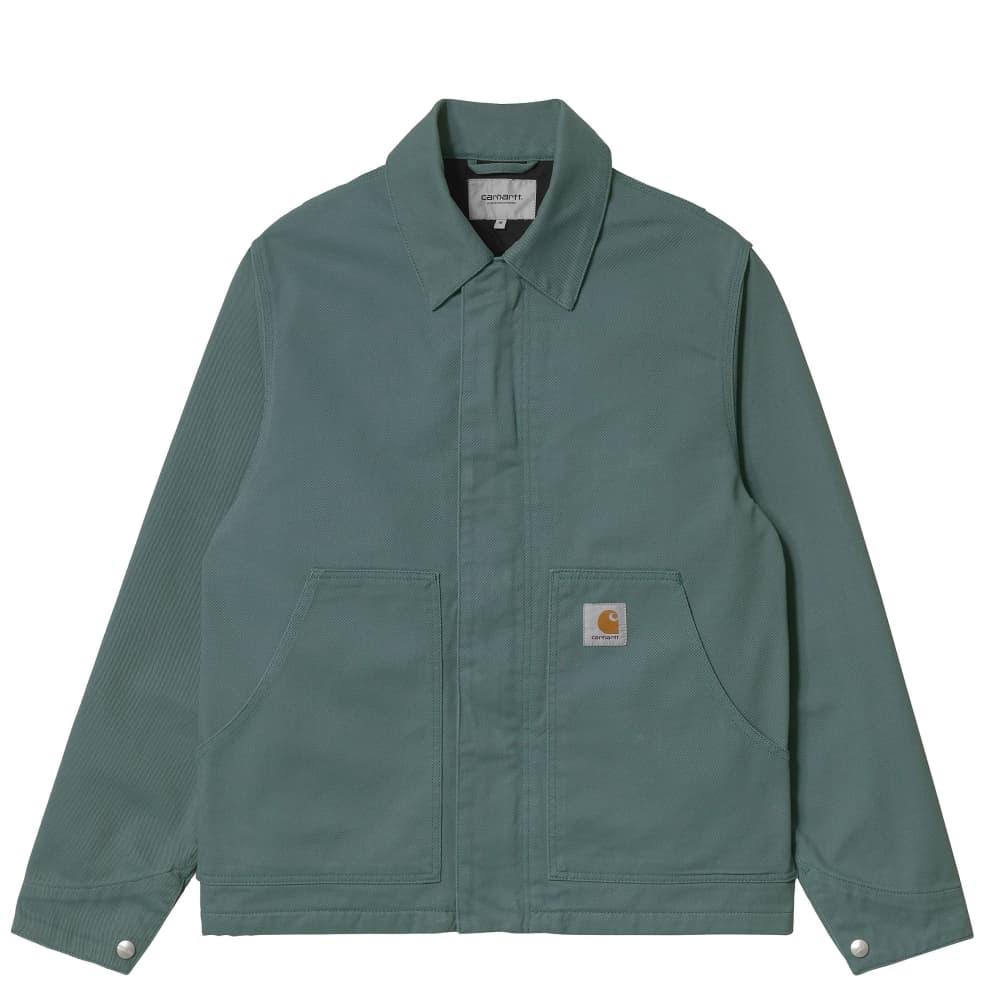Carhartt WIP Arcan Jacket - Eucalyptus (Rinsed)   Jacket by Carhartt WIP 1