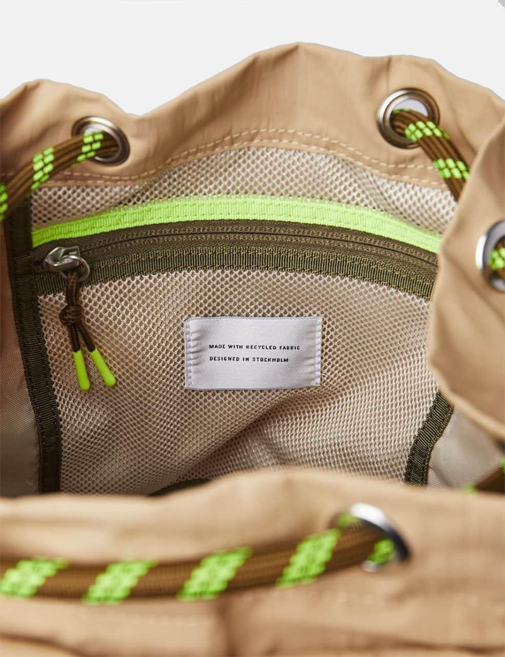 Sandqvist Charlie Backpack (Vegan) - Beige   Backpack by Sandqvist 3
