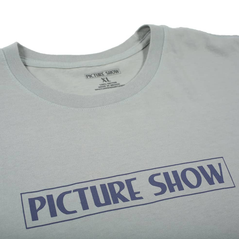 PICTURE SHOW VHS TEE - DOVE GREY   T-Shirt by Picture Show Studios 2