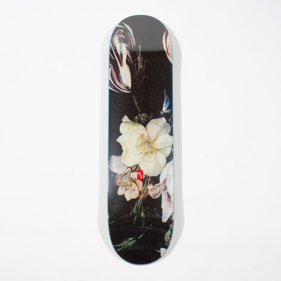 Poetic Collective Flower Skateboard Deck - 8.0   Deck by Poetic Collective 1