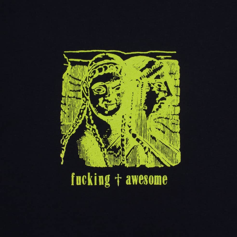 Fucking Awesome Archaic Smile T-Shirt - Black   T-Shirt by Fucking Awesome 2