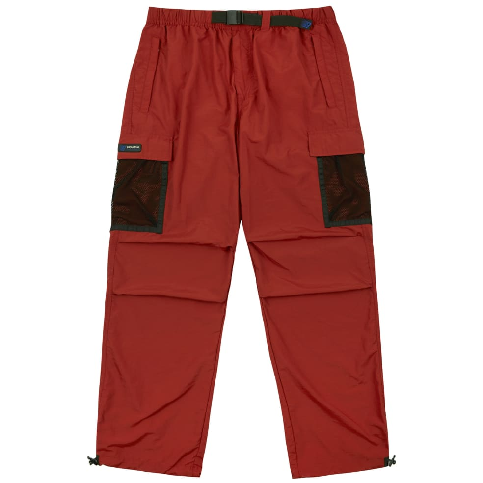 Bronze 56k Mesh Cargo Pants - Rust | Trousers by Bronze 56k 1