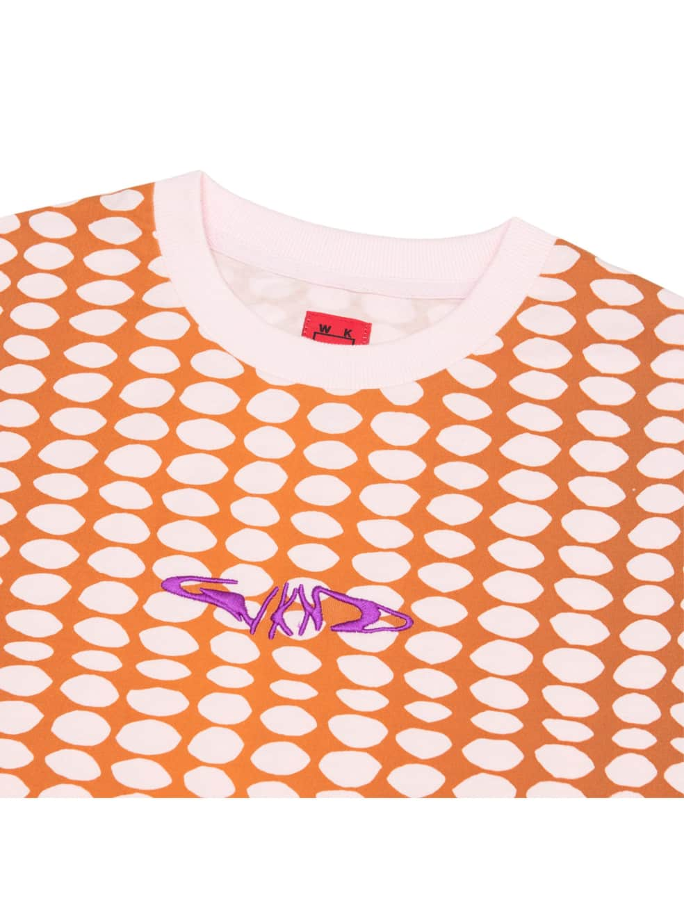 WKND Bubble T-Shirt - Pink / Brown | T-Shirt by WKND 2