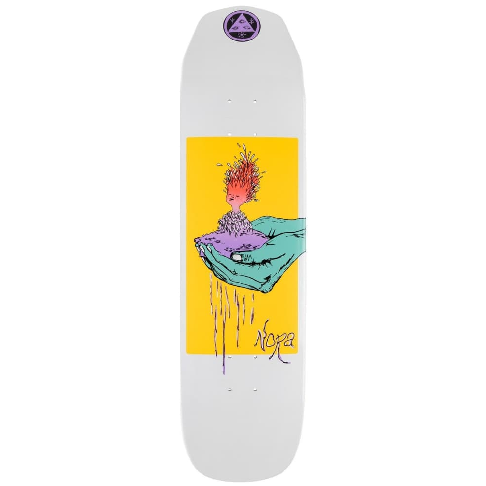 """Welcome Nora Vasconcellos Soil On Wicked Princess Skateboard Deck - 8.125"""" 