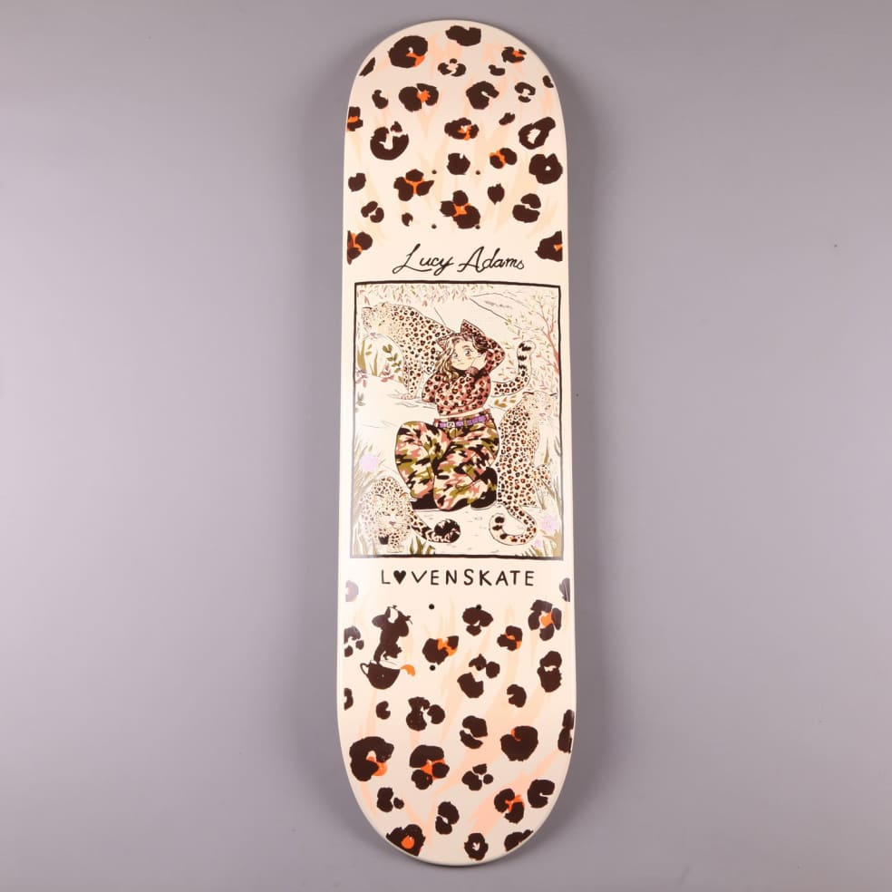 """Lovenskate 'Lucy Adams Pro Master Of Camouflage' 8.25"""" Deck   Deck by Lovenskate 1"""
