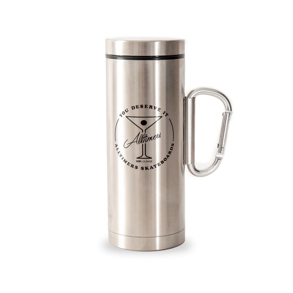 Alltimers Carabiner Canteen - Silver   Giftables by Alltimers 1