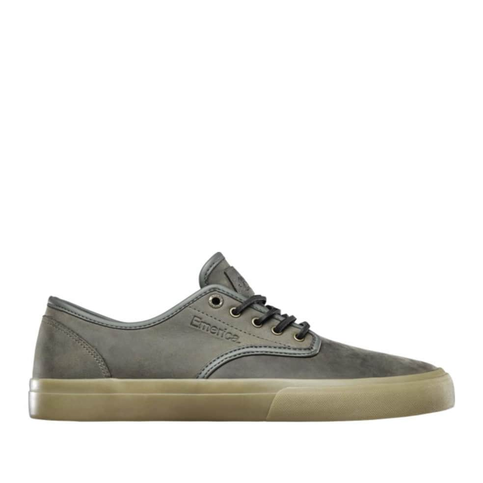 Emerica Wino Standard Skate Shoes - Olive / Gum | Shoes by Emerica 1