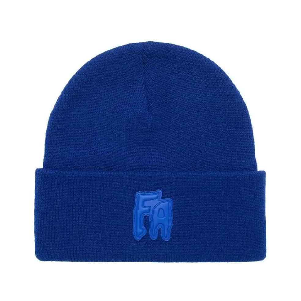 Fucking Awesome FA Applique Cuff Beanie - Royal | Beanie by Fucking Awesome 1