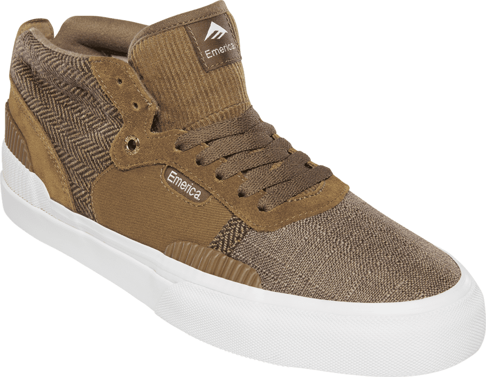Emerica Pillar Skate Shoes - Brown   Shoes by Emerica 2