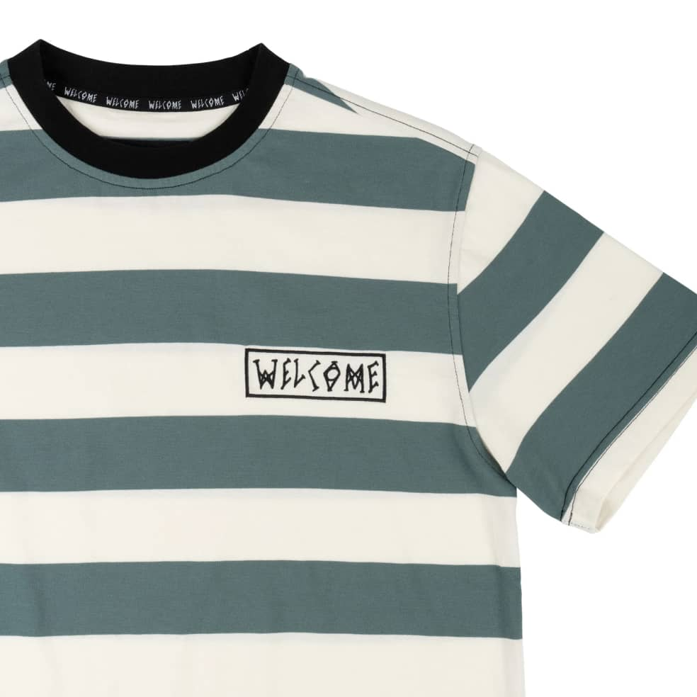 Welcome Thicc Stripe Yarn Dyed Knit Tee   T-Shirt by Welcome Skateboards 2