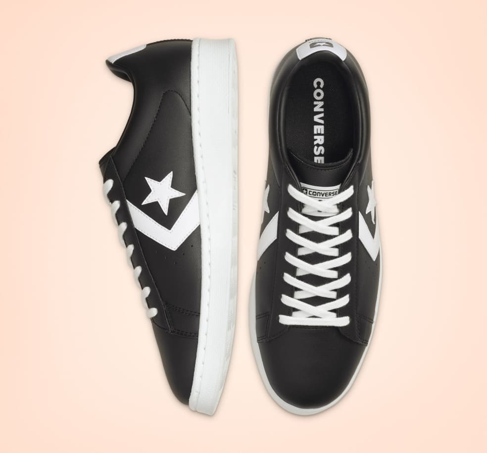 Converse Pro Leather - Black | Shoes by Converse 3