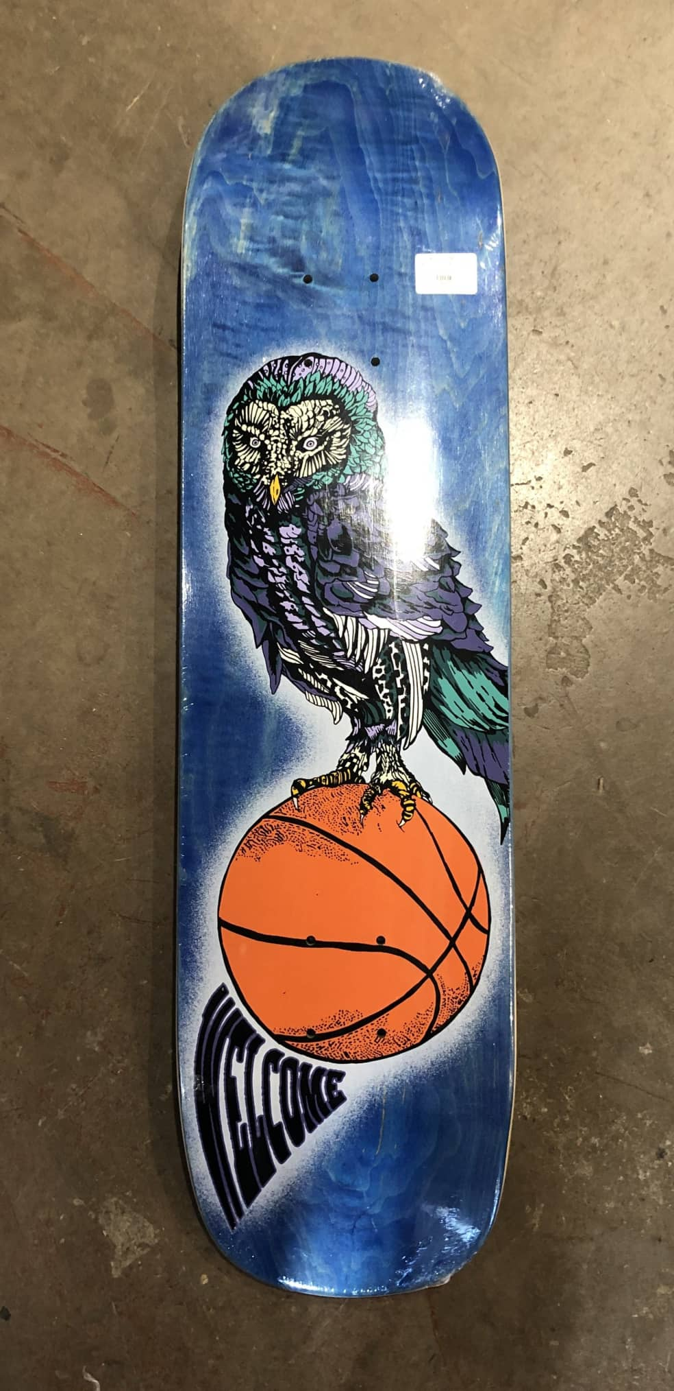 Welcome Hooter Shooter On Skateboard Deck | Deck by Welcome Skateboards 1