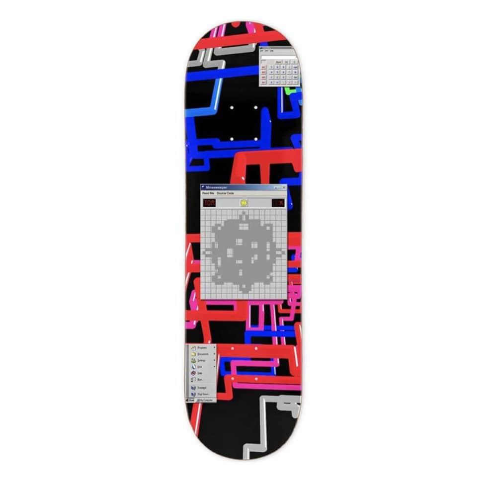 "WKND Tom Karangelov Minesweeper Skateboard Deck - 8.375""   Deck by WKND 1"