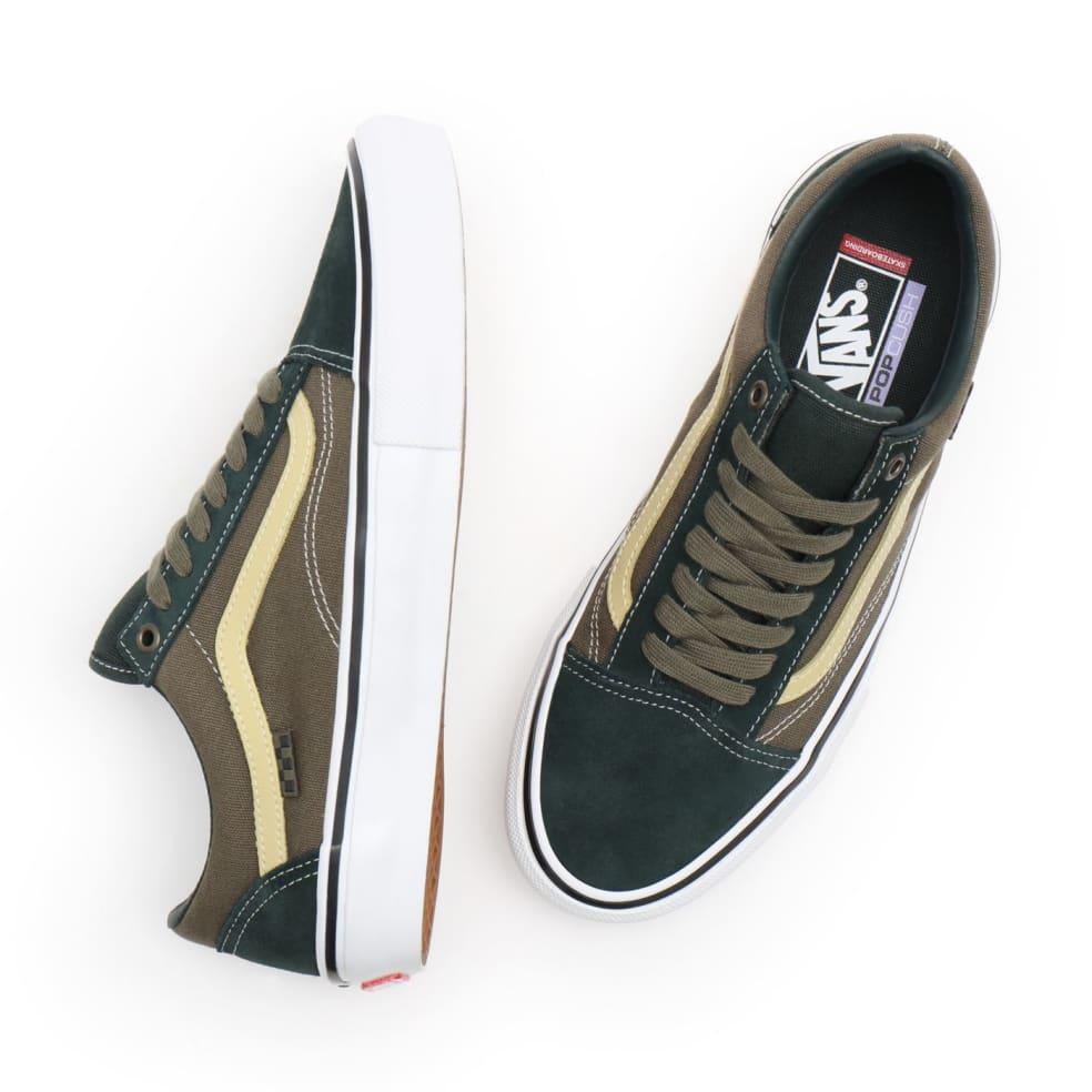 Vans Skate Old Skool Shoes - Scarab / Military   Shoes by Vans 3