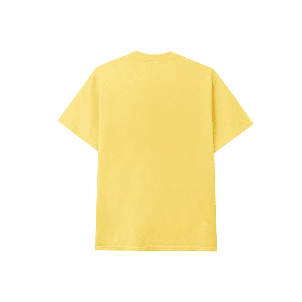Real Bad Man Front Hitter T-Shirt - Butter Yellow   T-Shirt by Real Bad Man 2
