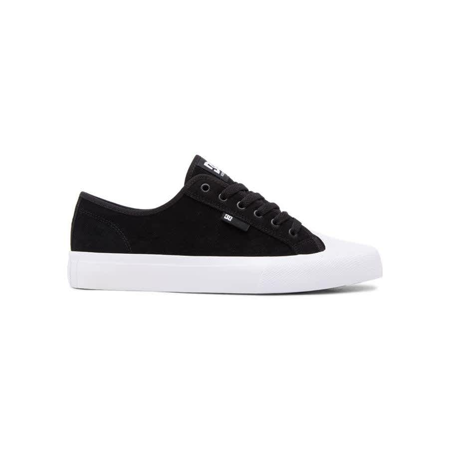 DC Manual RT S Skate Shoe - Black / White | Shoes by DC Shoes 1