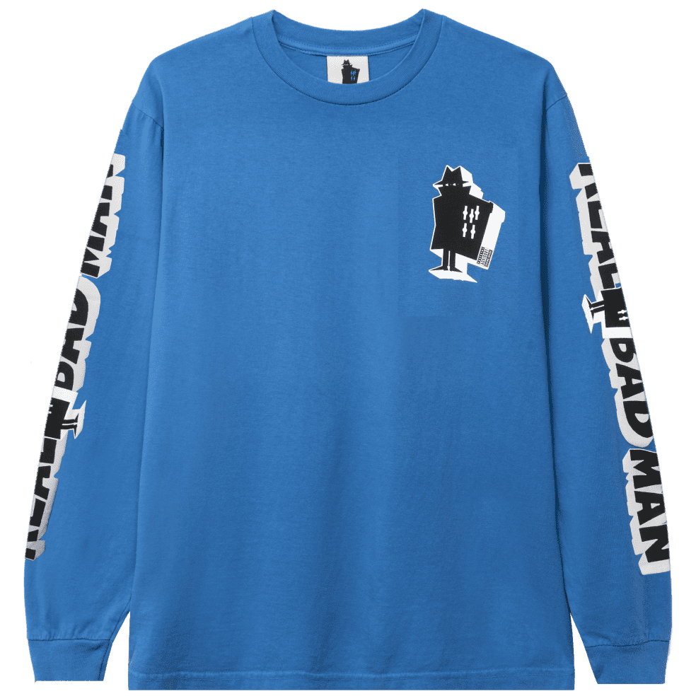 Real Bad Man Graphic Content Long Sleeve T-Shirt - Blusey | Longsleeve by Real Bad Man 1