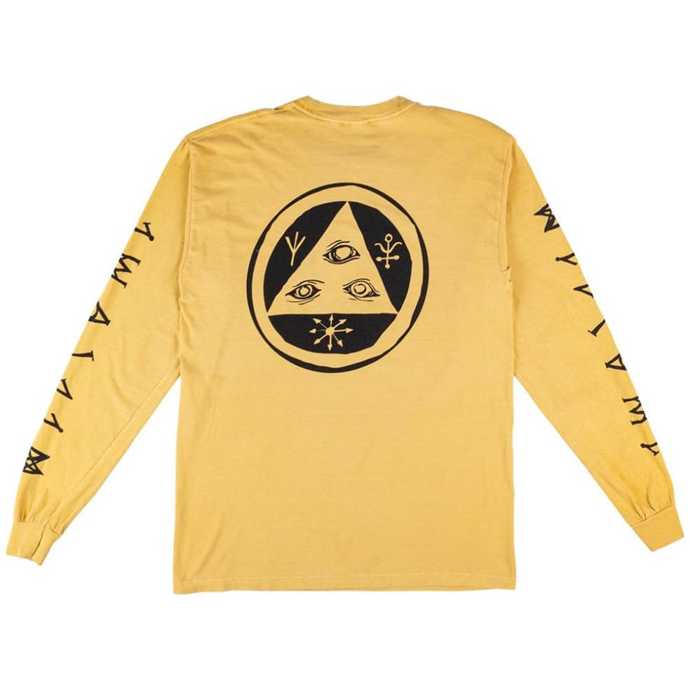 Welcome Tali-Scawl Garment Dyed Long Sleeve T-Shirt   Longsleeve by Welcome Skateboards 3