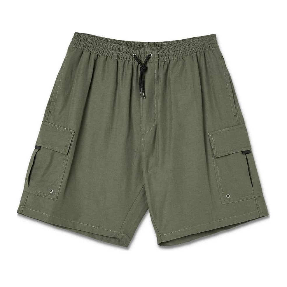 Polar Skate Co Utility Swim Shorts - Olive   Trousers by Polar Skate Co 1