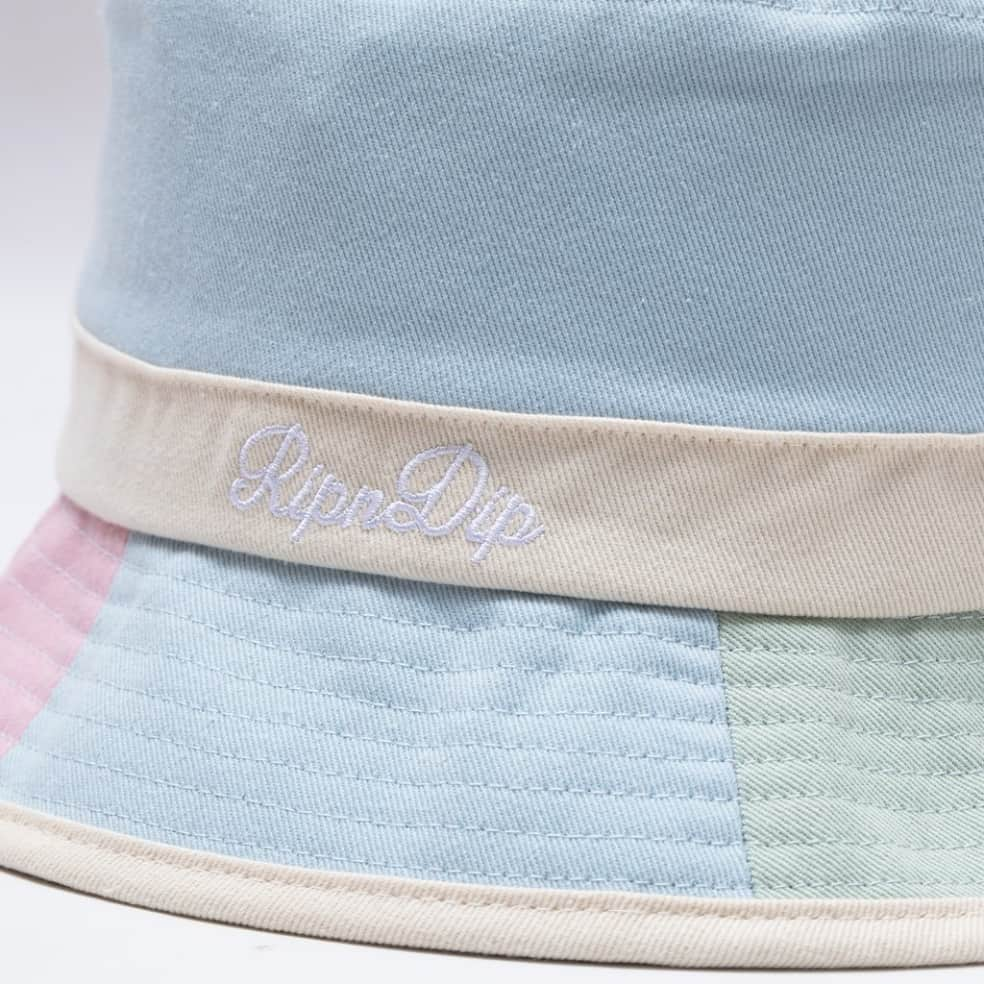 Rip N Dip Mid City Cotton Embroidered Bucket Hat - Multi | Bucket Hat by Ripndip 2