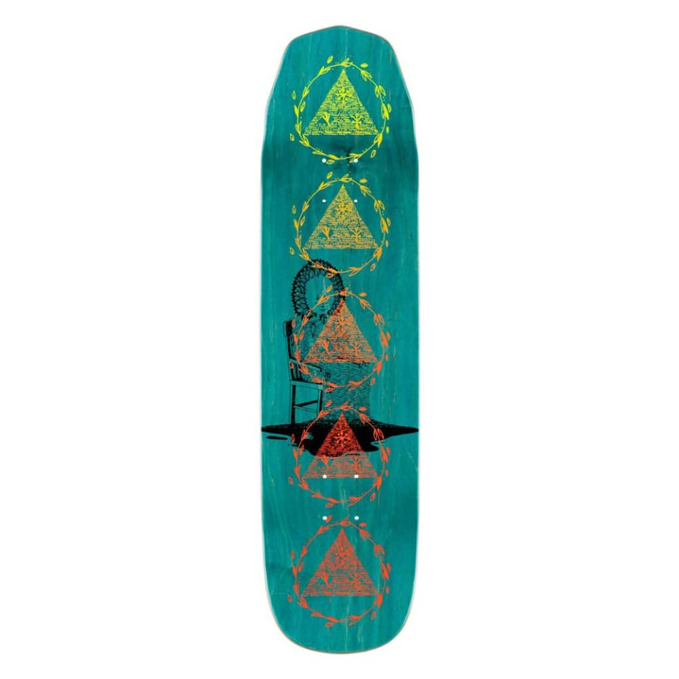Nora Vasconcello Soil on Wicked Princess - Bone/Teal Stain - 8.125 | Deck by Welcome Skateboards 3