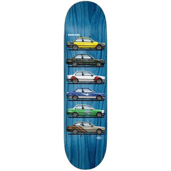 """Real Ishod Customs Twin Tail Deck 8.5""""   Deck by Real Skateboards 1"""
