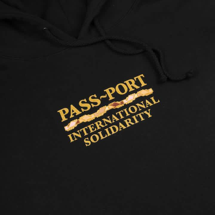 Pass~Port Inter Solid Hoodie - Black   Hoodie by Pass~Port Skateboards 2